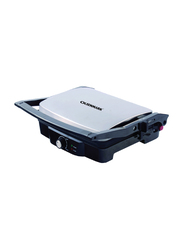Olsenmark 4Slice Grill Maker, 2000W, with Non-Stick Coating Plate, OMGM2306, Silver/Black
