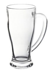 RoyalFord 14oz 2-Pieces Glass Cup With Handle, RF6783, Clear