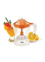 Geepas 1L Citrus Juicer with Plastic Cup, GCJ9900, Orange/White