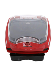 Geepas Multi Function Grill Sandwich Maker, Non-Stick Cooking Plate, 1100W, GGM6126, Red