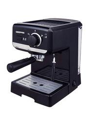Geepas 1.25L Cappuccino Maker, 11400W, GCM6108, Black