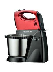 Olsenmark 3L Stand Mixer, 300W, OMHM2334, Red/Black