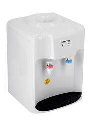 Krypton Top Load Table Top Hot and Normal Water Dispenser with Cooling Cabinet, KNWD6094, White