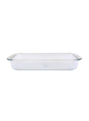 RoyalFord 3 Ltr Glass Rectangle Baking Dish, RF2696-GBD, Clear
