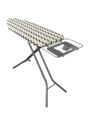 RoyalFord Mesh Top Ironing Board, RF8735, White/Blue