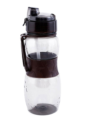 RoyalFord 600ml Plastic Water Bottle, RF6425, Black
