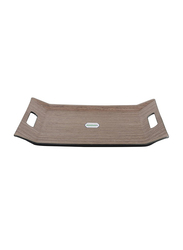 RoyalFord 46cm Wooden Finish Serving Tray, RF9222, 46x31 cm, Brown