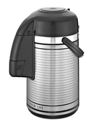 RoyalFord 2.5 Ltr Stainless Steel Vacuum Flask, RF6276, Silver