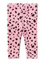 Noe & Zoe Baby Waffle Legging, Cotton, 12-18 Months, Pink Mash