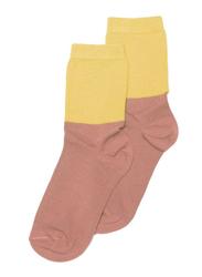 Mingo Kids Socks, EU 27-30 Months, Raspberry/Sauterne