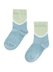 Mingo Kids Socks, EU 19-22 Months, Smoke Blue
