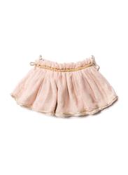 Noe & Zoe Tutu Blossom Stars Printed Skirt, Cotton, 2 Years, Pale Pink