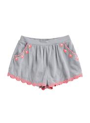 Louise Misha Florida Silver Cloud Shorts, 2-Years, Blue/Pink