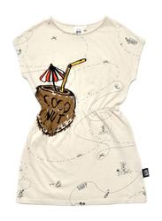 Little Man Happy Coconut Beach Dress, Cotton, 3-5 Years, Sand
