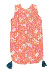 Louise Misha Arianna Flower Printed Sleeping Bag, 3-12 Months, Coral