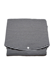 Mingo Kids Stripes Changing Mat, Black/White