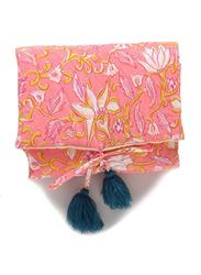 Louise Misha Flower Printed Changing Mat, Coral