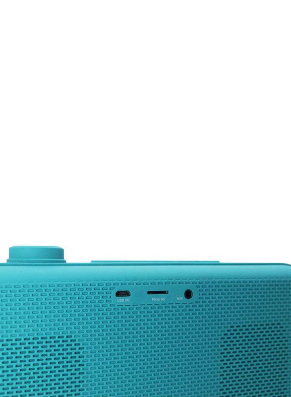 Zakk Lounge Portable Bluetooth Speaker, Blue