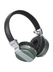 Zakk Hunter Wireless Over-Ear Noise Cancelling Headphones, Green/Black