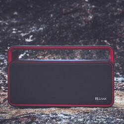 Zakk Party Portable Bluetooth Speaker, Red/Black