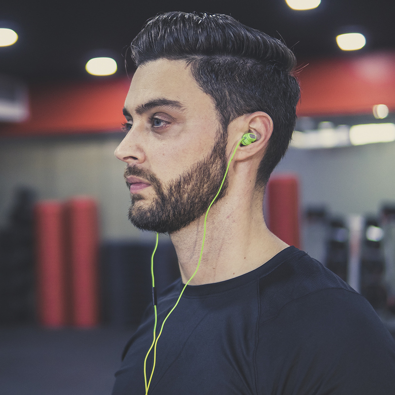 Zakk Venom 3.5 mm Jack In-Ear Headphones, Green
