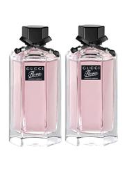 Gucci 2-Piece Flora Gorgeous Gardenia Perfume Set for Women, 100ml EDT