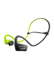 Anker SoundBuds Sport NB10 In-Ear Bluetooth Headphone, Black/Green