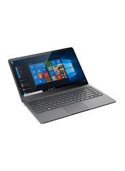IQ Laptop Viva Air X3, 14.1-inch Full HD IPS Display, Intel Apollo Lake 1.1GHz, Celeron N3350, 4GB RAM, 64GB SSD, Intel HD Graphics 500, Windows 10 Home, EN Keyboard with 2.0MP Camera, Metallic Grey