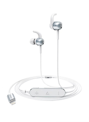 Anker SoundBuds Digital IE10 In-Ear Lightning Headphone, Silver