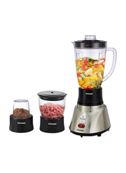 Sonashi 3 in 1 1.6L Electric Blender, 400W, SB 160, Silver