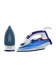 Sonashi Steam Iron, with Ceramic Soleplate, 2400W, SI 5074C, Blue/White