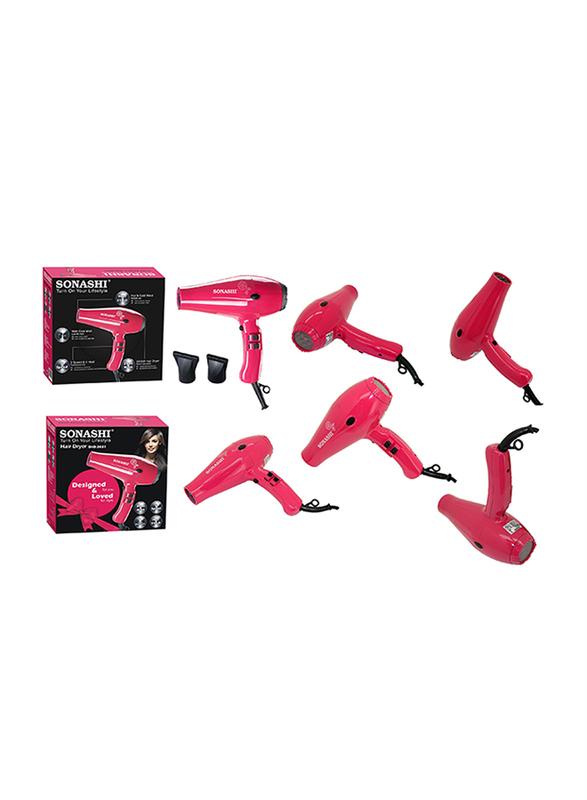 Sonashi Hair Dryer, 2000W, SHD 3031, Pink