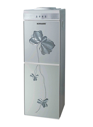 Sonashi Top Load Hot and Cold Water Dispenser, with Refigerator Cabinet, 670W, SWD 44, Grey