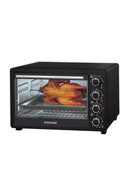 Sonashi 36L Microwave Oven, 1500W, with Timer, STO 731, Black