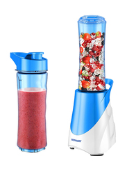 Sonashi Portable Sports Blender/Smoothie Maker, 300W, SB 164, White/Blue