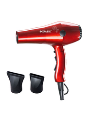 Sonashi Hair Dryer, 2000W, SHD 3032, Shiny Red
