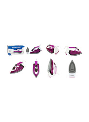 Sonashi Steam Iron, with Ceramic Soleplate, 2400W, SI 5068C, Purple/White