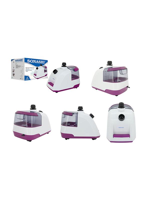 Sonashi 2.8L Garment Steamer, 1800W, SGS 312, Purple/White