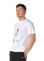 Dedicated Stockholm Mary J Blige Short Sleeves T-Shirt for Men, Medium, White