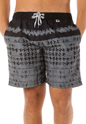 Scipo Hounds Drawstring Shorts for Men, Large, Black