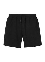 Nikben Terry Stockholm Drawstring Shorts for Men, Small, Black