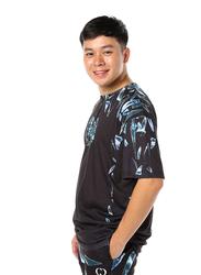 Criminal Damage Shard Short Sleeves T-Shirt for Men, Extra Large, Black