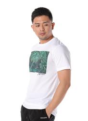 Dedicated Sumatra Short Sleeves T-Shirt for Men, Small, White