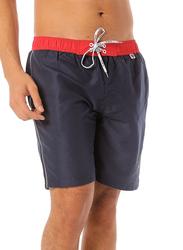 Scipo Plunge Drawstring Shorts for Men, Extra Large, Navy Blue