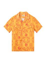 Nikben NB Chief Short Sleeve Shirt for Men, Small, Yellow