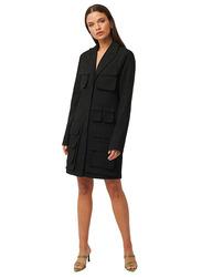 NA-KD Pocket Blazer Dress, 34 EU, Black