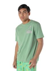 Nikben Jollyland Short Sleeve T-Shirt for Men, Small, Green
