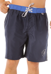 Scipo Swoop Drawstring Shorts for Men, Extra Large, Navy Blue
