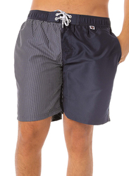 Scipo Pool Drawstring Shorts for Men, Double Extra Large, Navy Blue