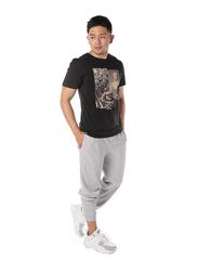 Dedicated Stockholm Ancient Dj Short Sleeves T-Shirt for Men, Large, Black